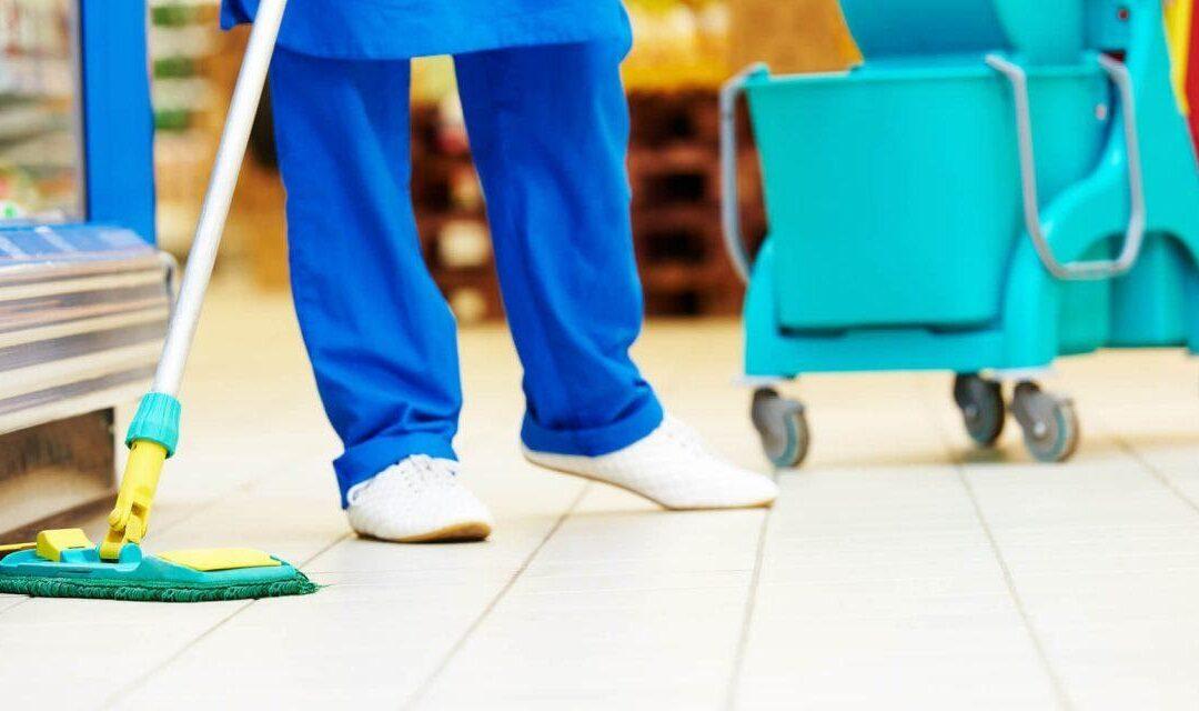 Quais as particularidades da limpeza no setor de perecíveis de um Supermercado?