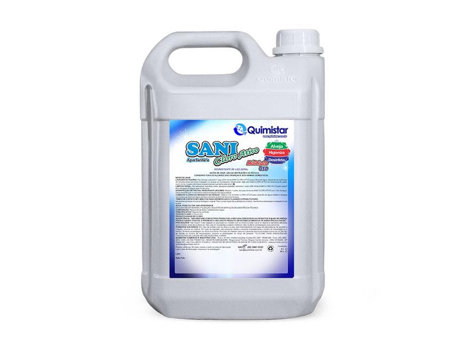 Água sanitária preço