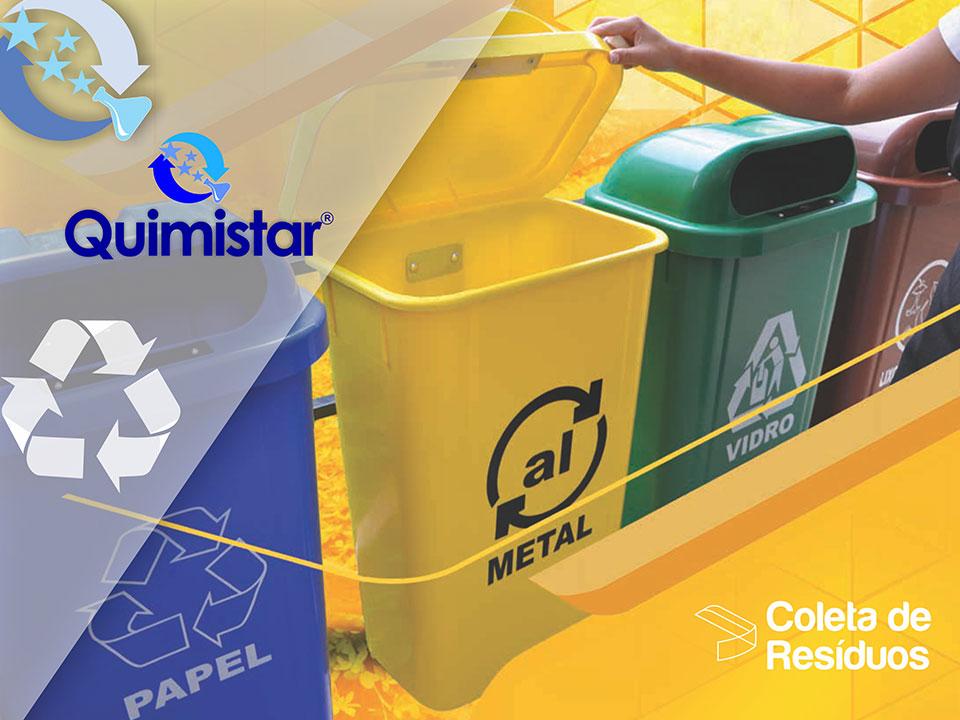 Contentor para Lixo Reciclado