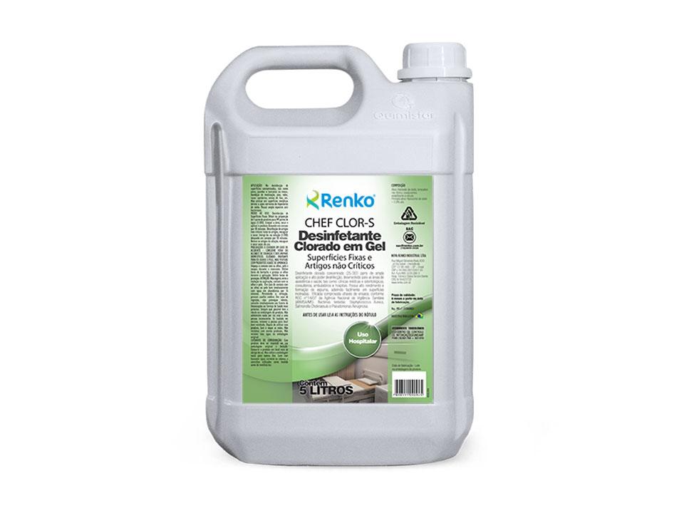Detergente alcalino para limpeza de pisos