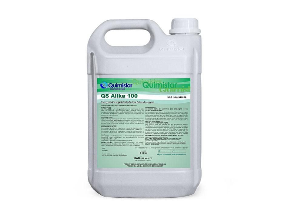 Detergente industrial alcalino