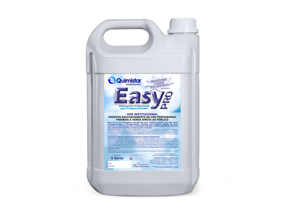 Detergente para limpeza de piso hospitalar
